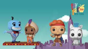 Funko Toy Fair Hercules Aladdin